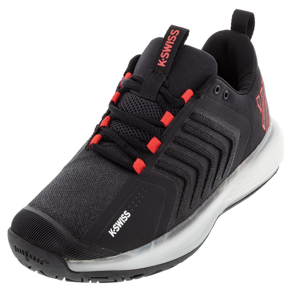 Men's Ultrashot 3 Tennis Shoes Black And White