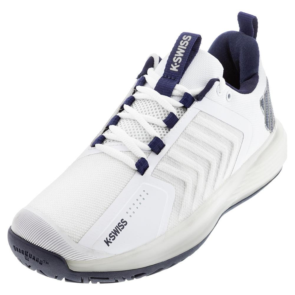 Men's Ultrashot 3 Tennis Shoes White And Peacoat
