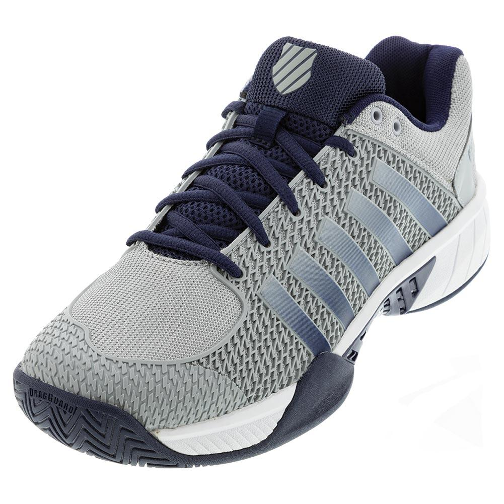 Men's Express Light Wide Pickleball Shoes Highrise And White