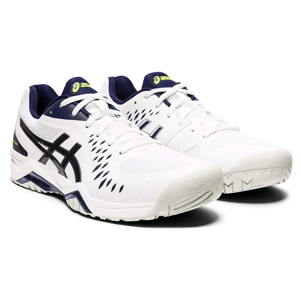 Men's Gel- Challenger 12 Tennis Shoes White And Peacoat