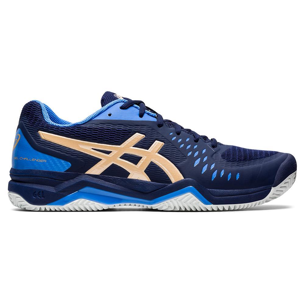 Asics Mens Gel-Challenger 12 Tennis Shoes Blue Sports Breathable Lightweight