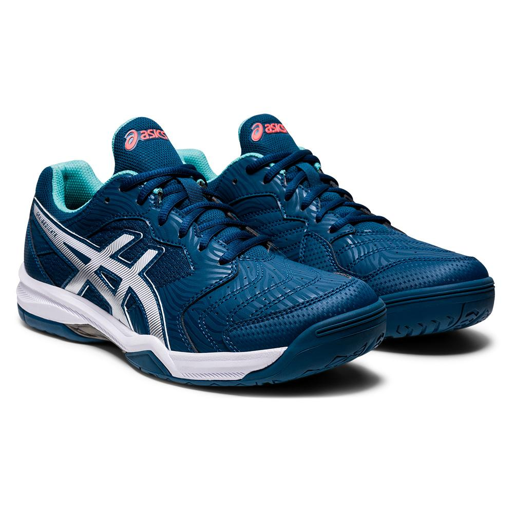 Men's Gel- Dedicate 6 Tennis Shoes Mako Blue And White