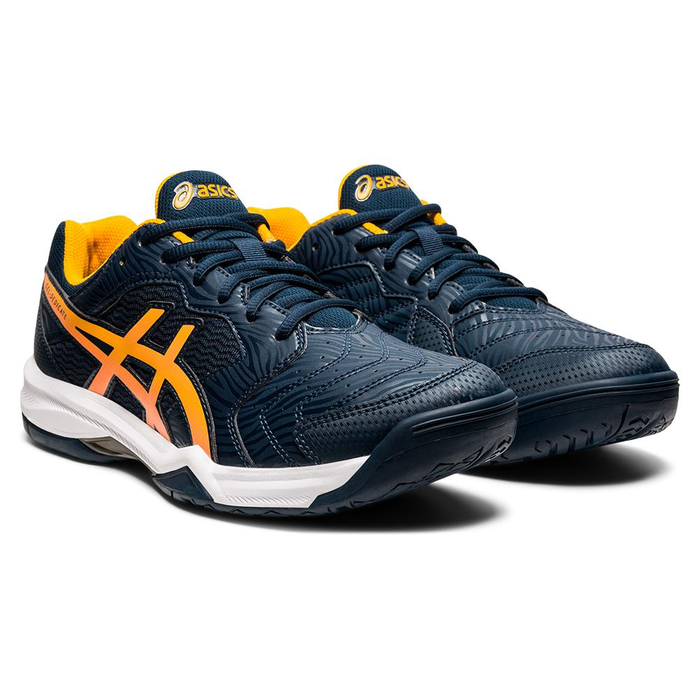 Men's Gel- Dedicate 6 Tennis Shoes French Blue And Amber
