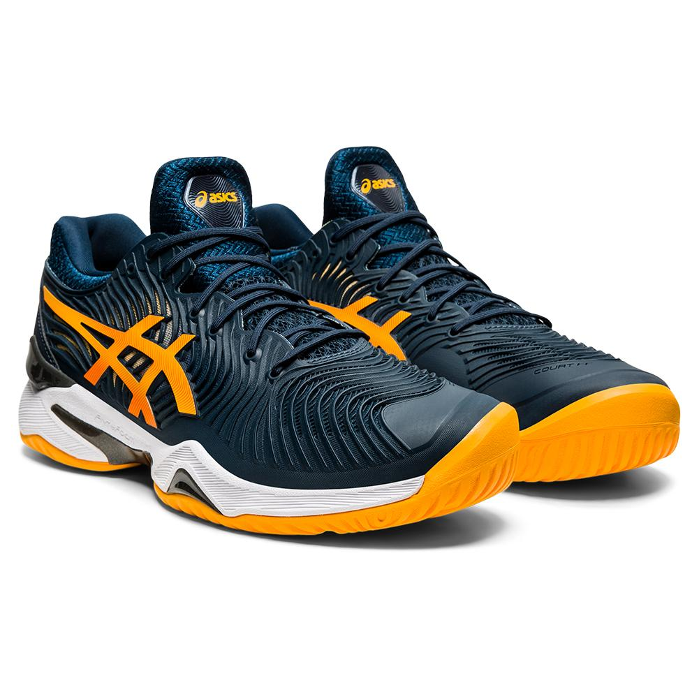 Men's Court Ff 2 Tennis Shoes French Blue And Amber
