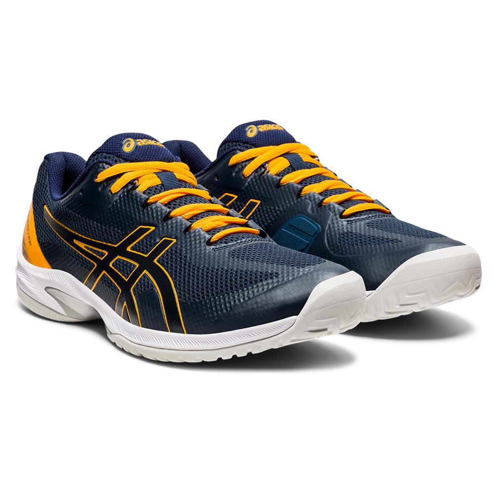 Men's Court Speed Ff Tennis Shoes French Blue And Amber
