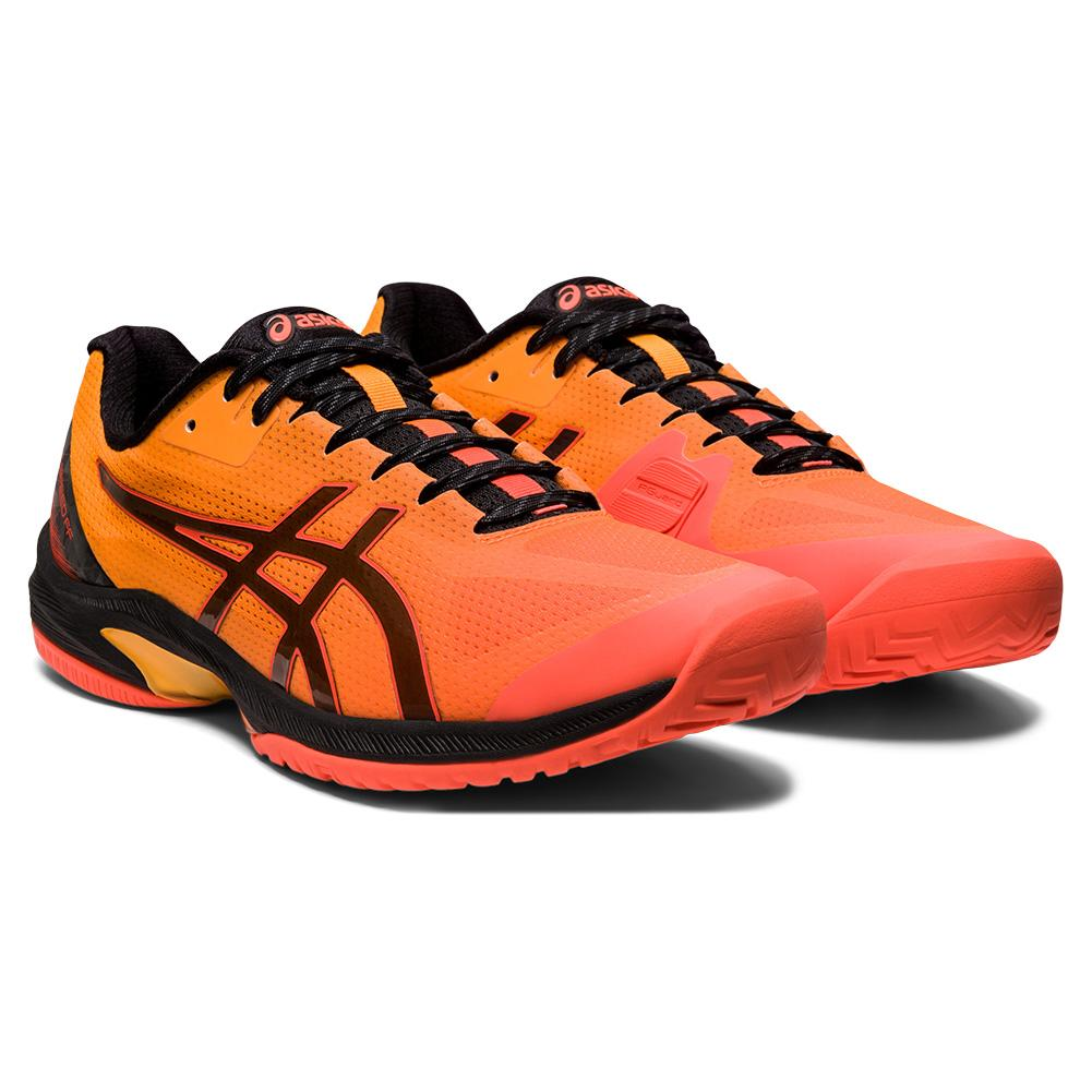Men's Court Speed Ff Limited Edition Tennis Shoes Flash Coral And Black