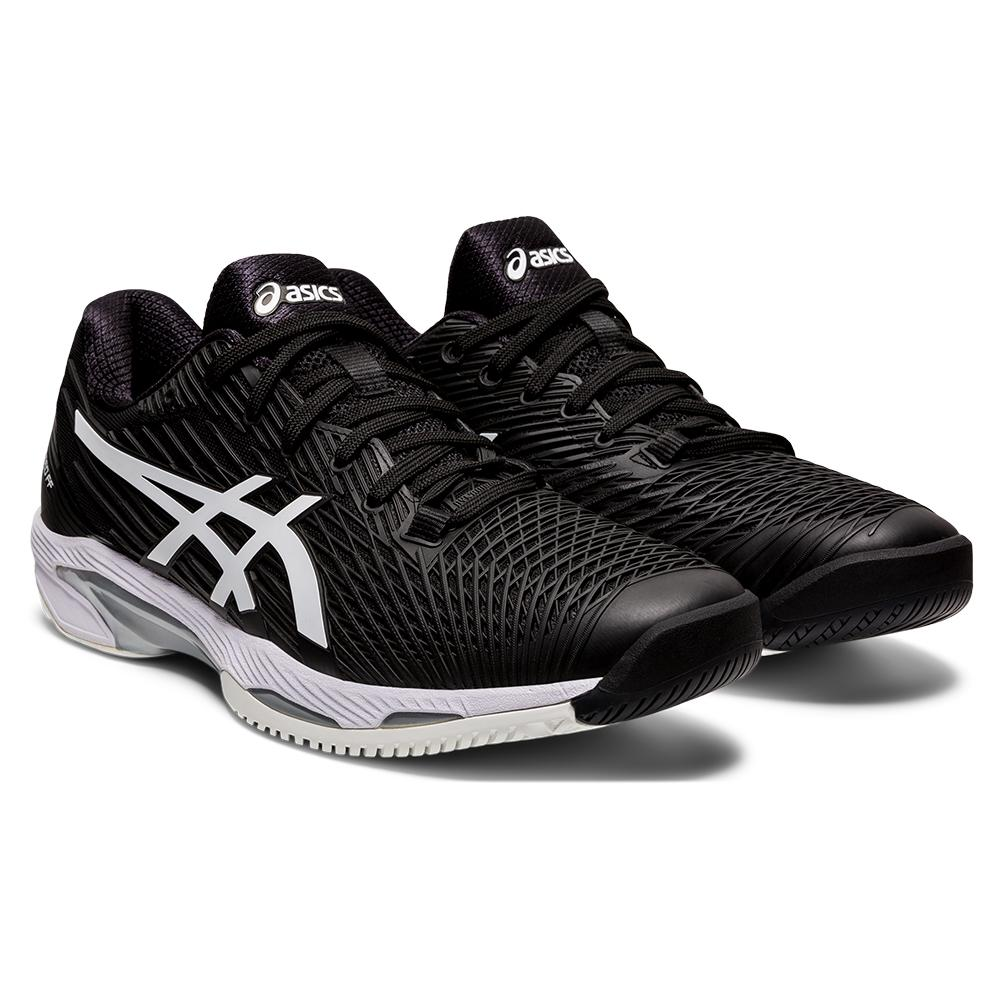 Men's Solution Speed Ff 2 Tennis Shoes Black And White