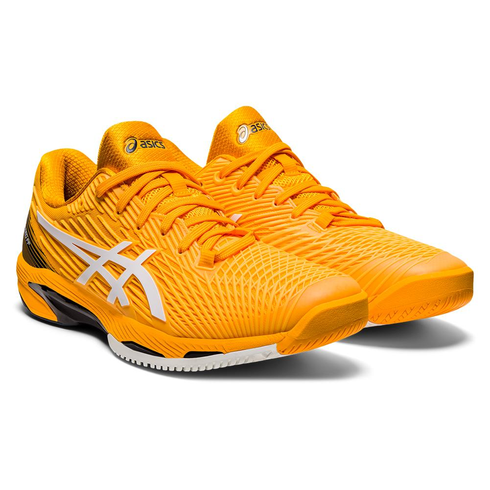 Men's Solution Speed Ff 2 Tennis Shoes Amber And White