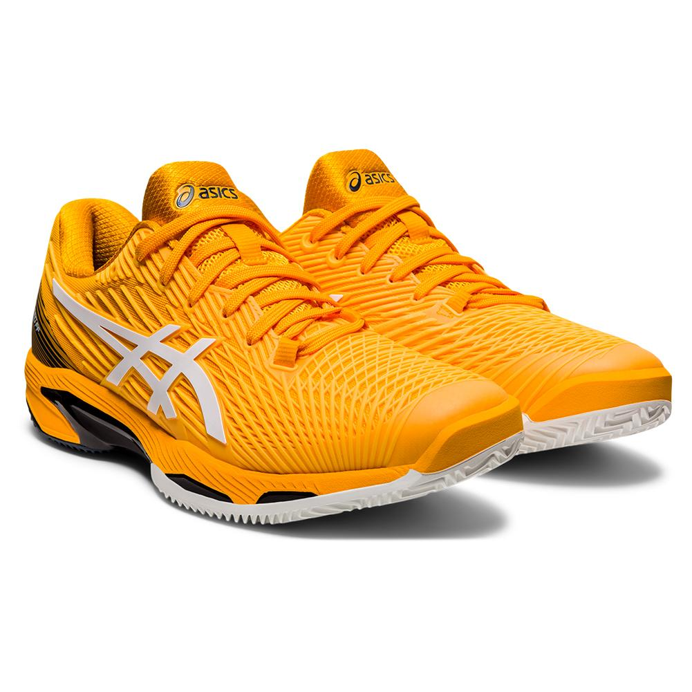 Men's Solution Speed Ff 2 Clay Tennis Shoes Amber And White