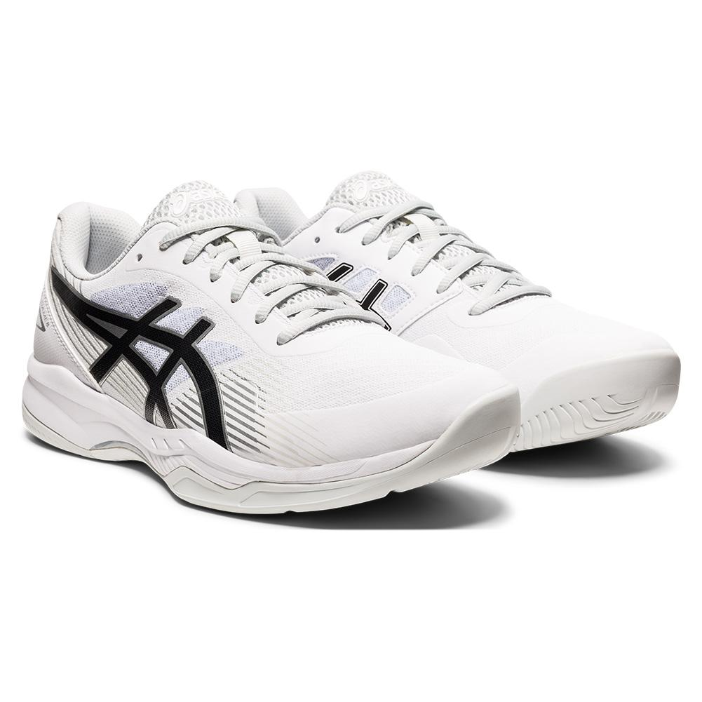 Men's Gel- Game 8 Tennis Shoes White And Black