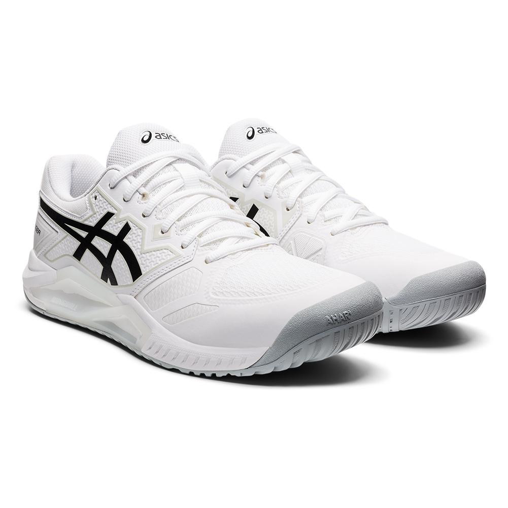Men's Gel- Challenger 13 Tennis Shoes White And Black