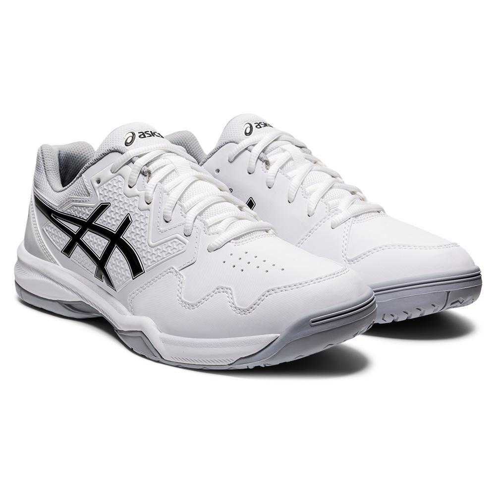 Men's Gel- Dedicate 7 Tennis Shoes White And Black