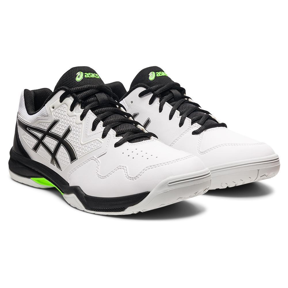 Men's Gel- Dedicate 7 Tennis Shoes White And Gunmetal