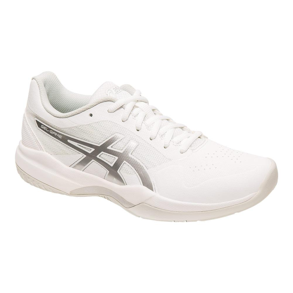 Women's Gel- Game 7 Tennis Shoes White And Silver