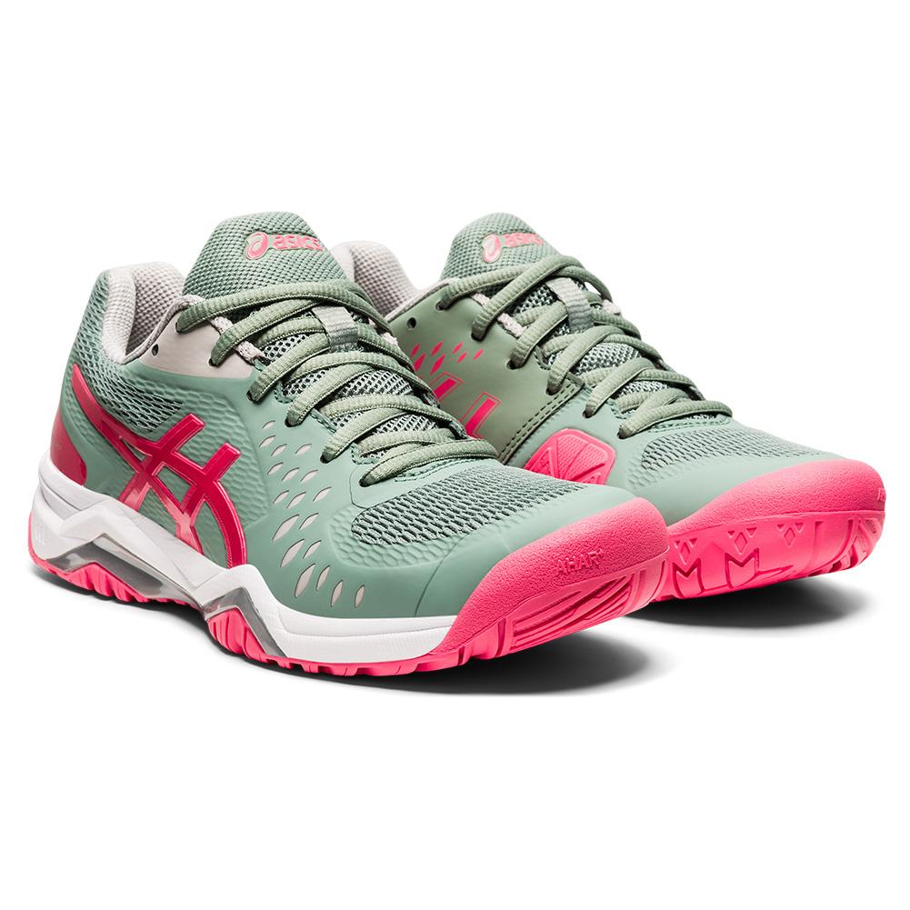 Women's Gel- Challenger 12 Tennis Shoes Slate Grey And Pink Cameo