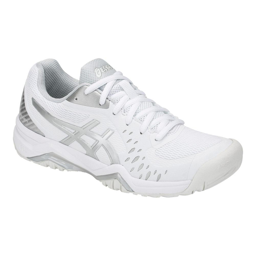 Women's Gel- Challenger 12 Tennis Shoes White And Silver
