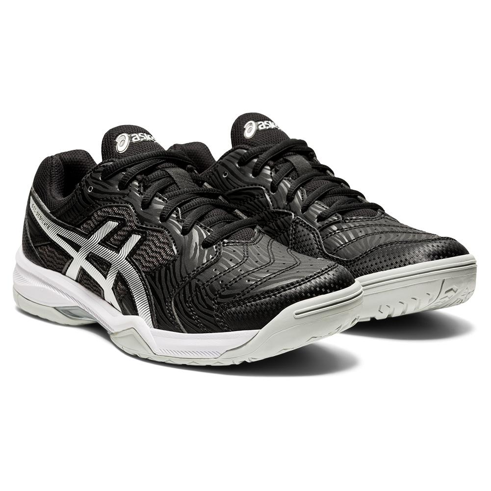 Women's Gel- Dedicate 6 Tennis Shoes Black And White
