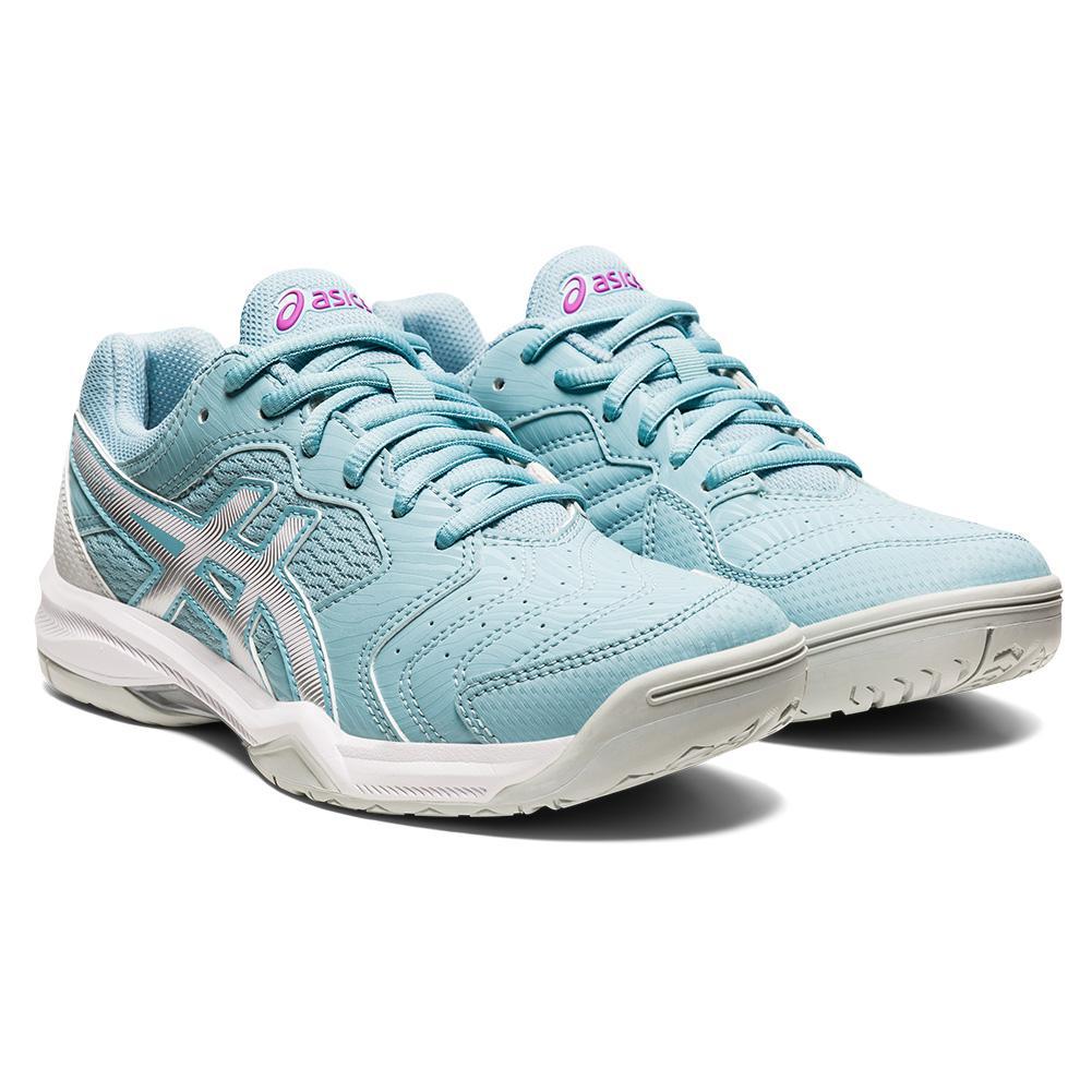 Women's Gel- Dedicate 6 Tennis Shoes Smoke Blue And White