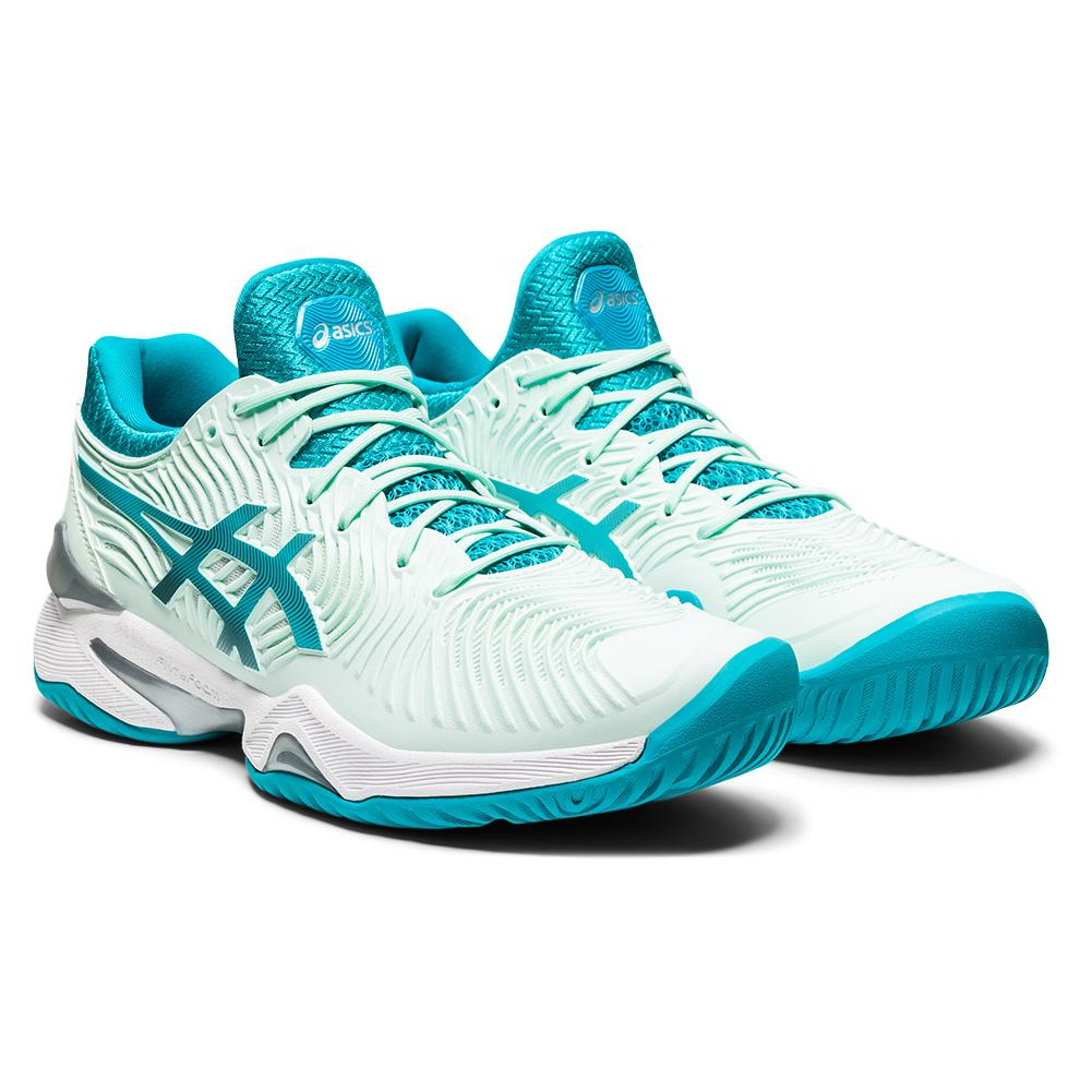 Women's Court Ff 2 Tennis Shoes Bio Mint And Lagoon