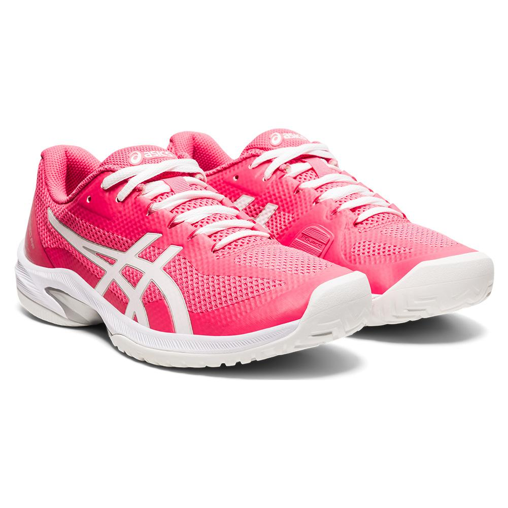 Women's Court Speed Ff Tennis Shoes Pink Cameo And White