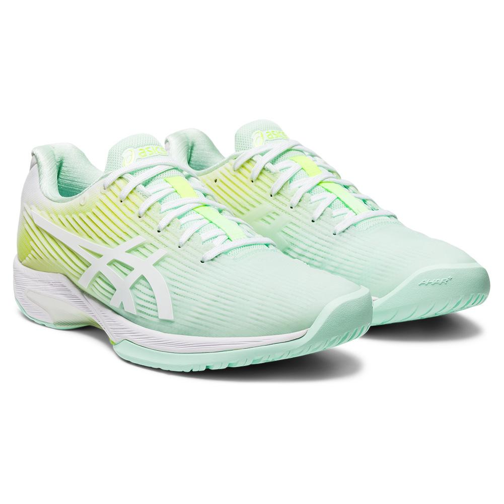 Women's Solution Speed Ff Limited Edition Tennis Shoes Mint Tint And White