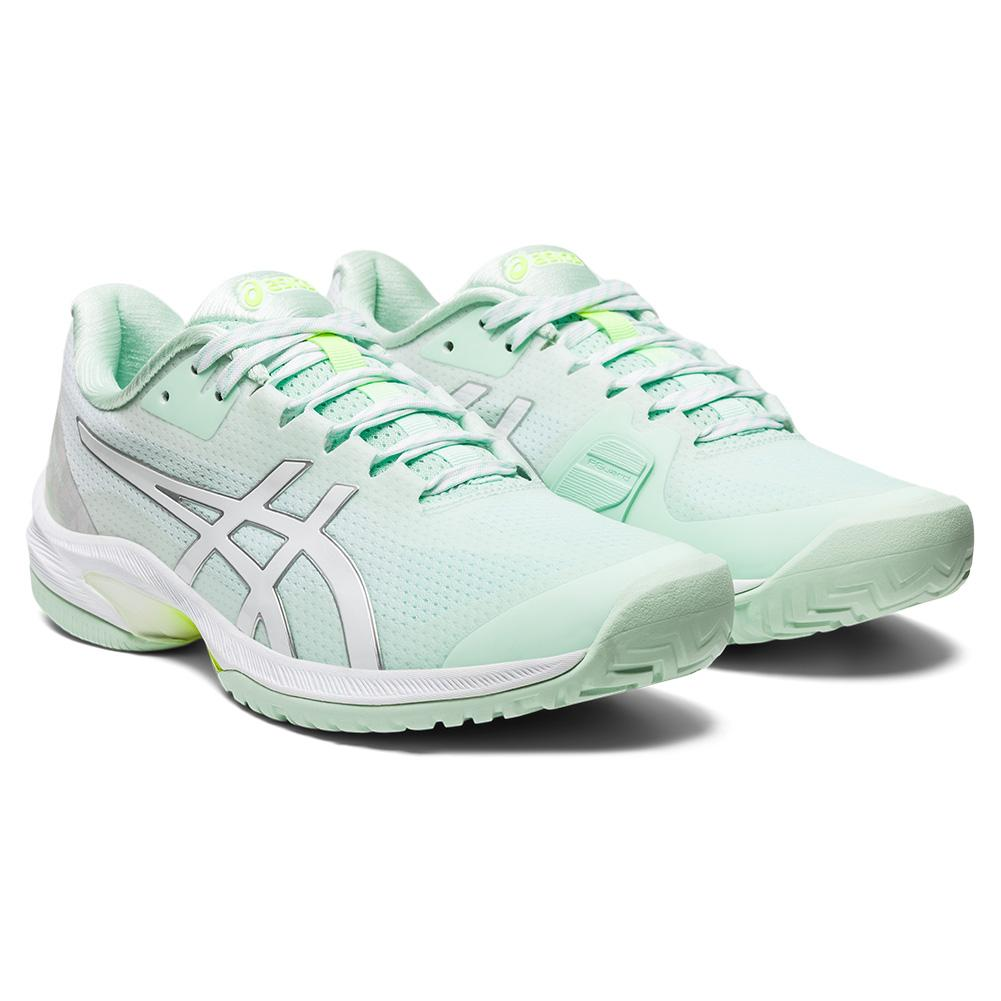 Women's Court Speed Ff Limited Edition Tennis Shoes Mint Tint And White