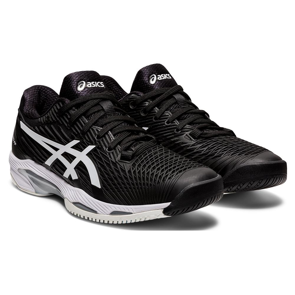 Women's Solution Speed Ff 2 Tennis Shoes Black And White