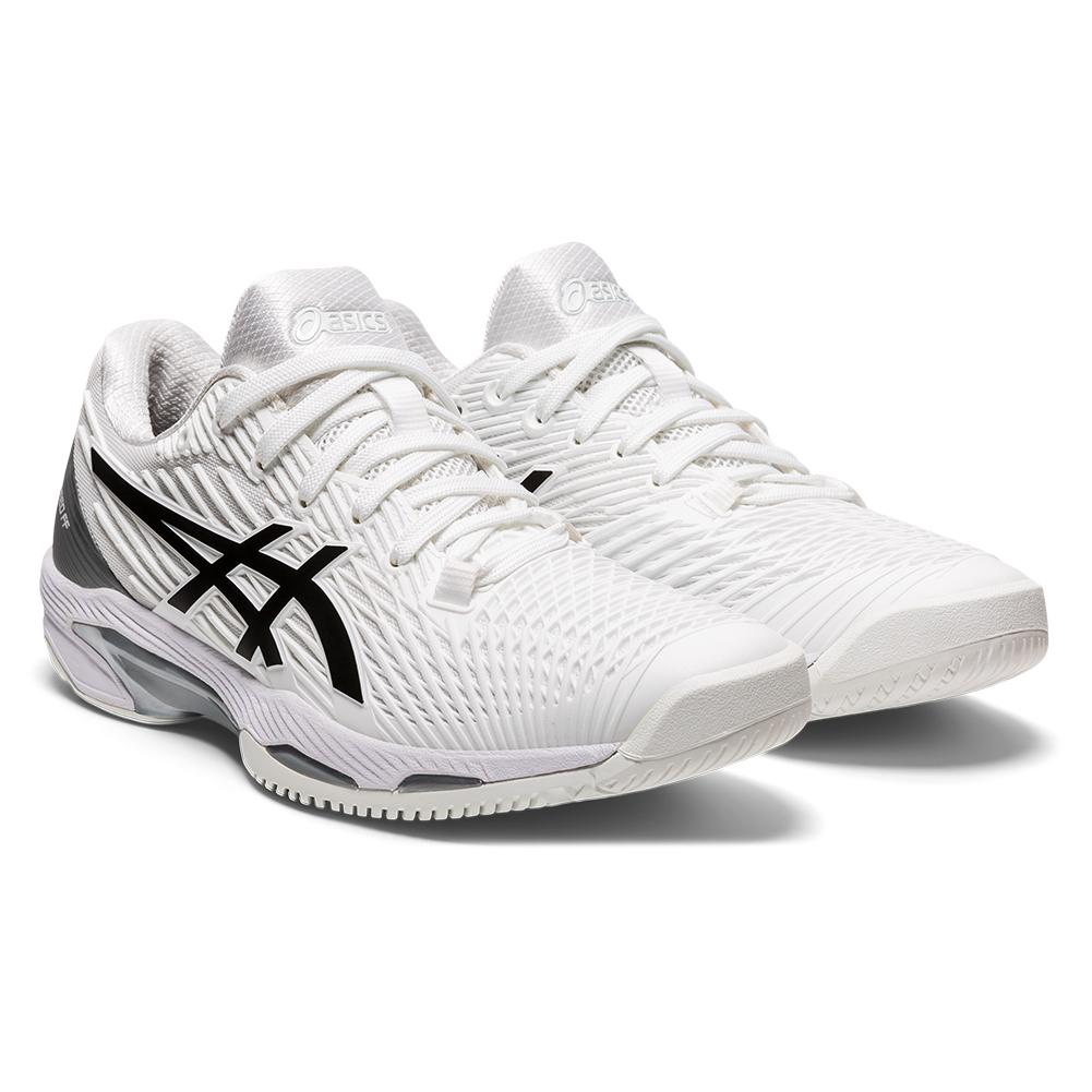 Women's Solution Speed Ff 2 Tennis Shoes White And Black