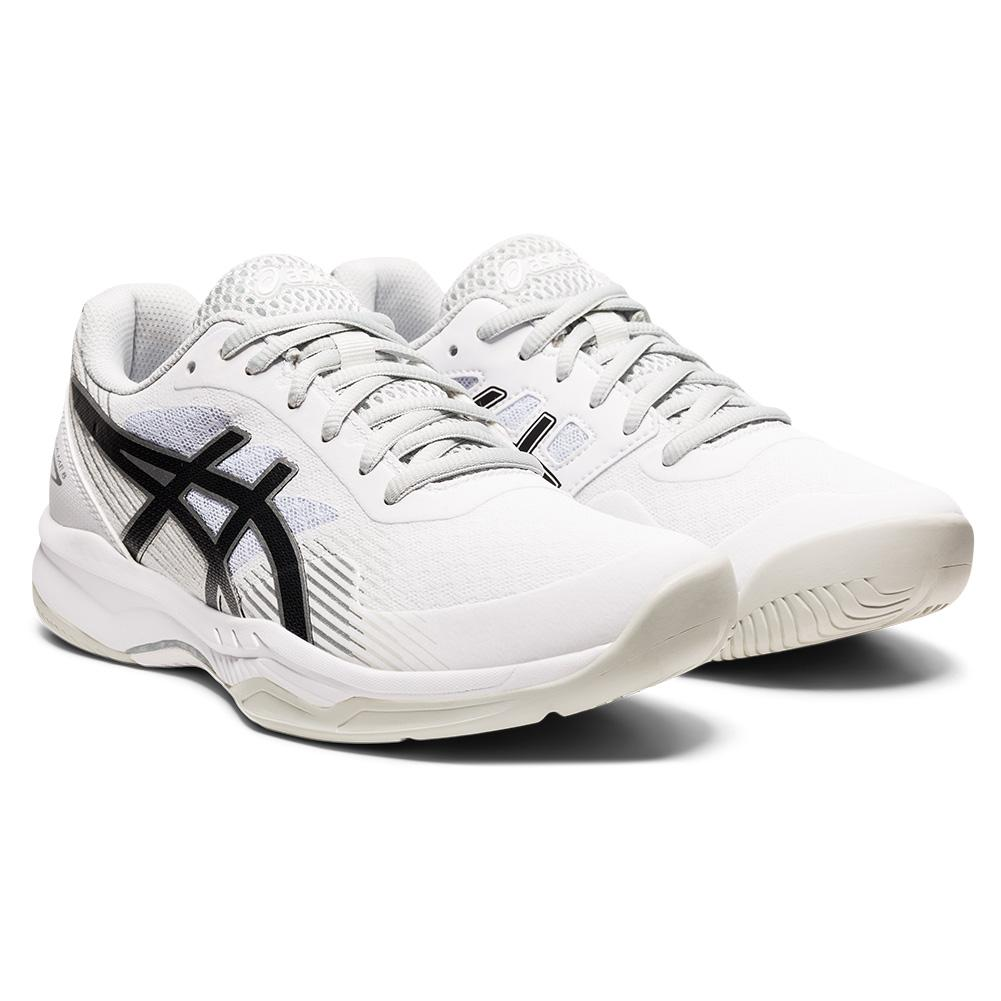 Women's Gel- Game 8 Tennis Shoes White And Black
