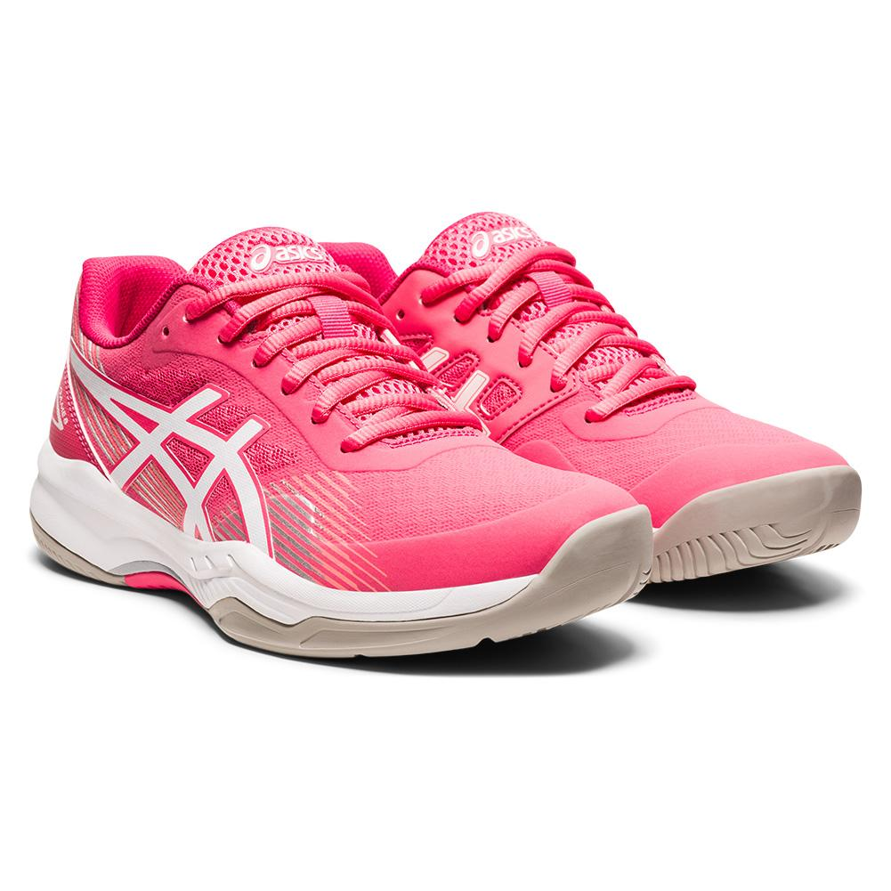 Women's Gel- Game 8 Tennis Shoes Cameo Pink And White