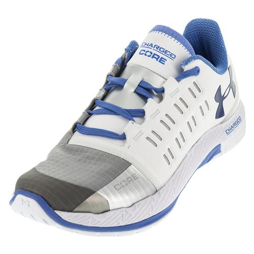 Women's Charged Core Shoes White And Water