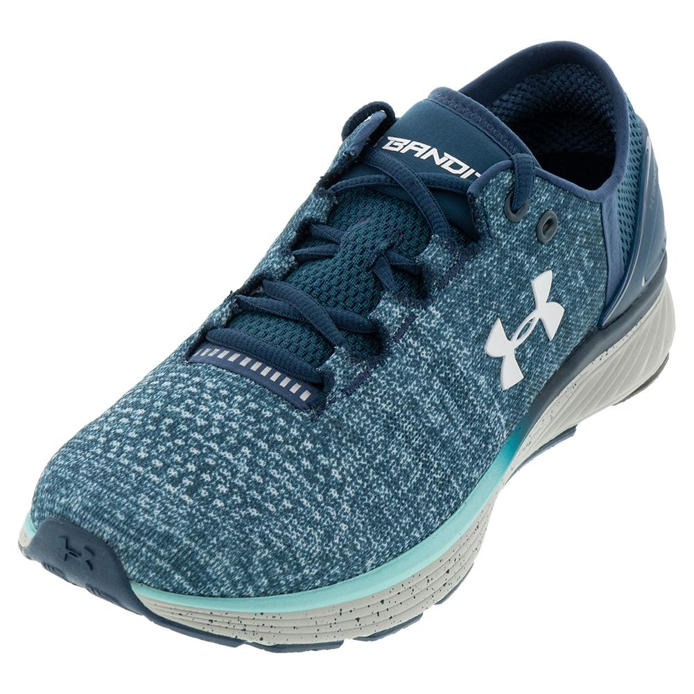8a9696559 Under Armour Women's UA Charged Bandit 3 Running Shoes True Ink and Blue  Infinity