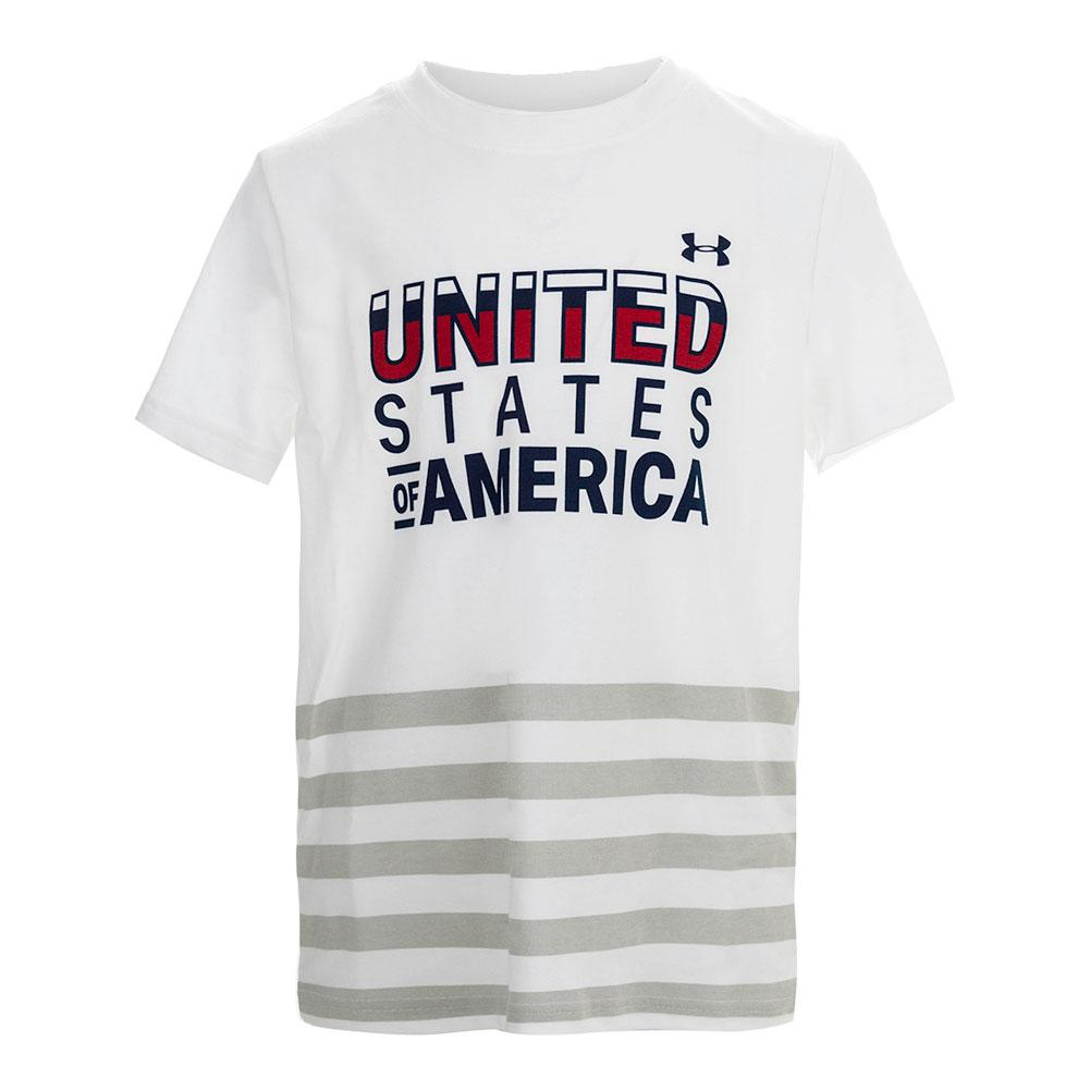 76cb9b5dd Under Armour Boy's USA Short Sleeve Tee