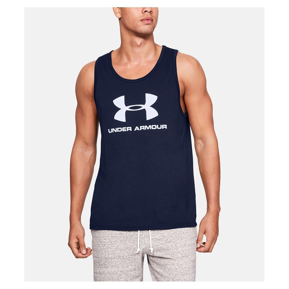 cerebro Todavía bádminton  Under Armour Men`s UA Sportstyle Logo Tank | Tennis Express