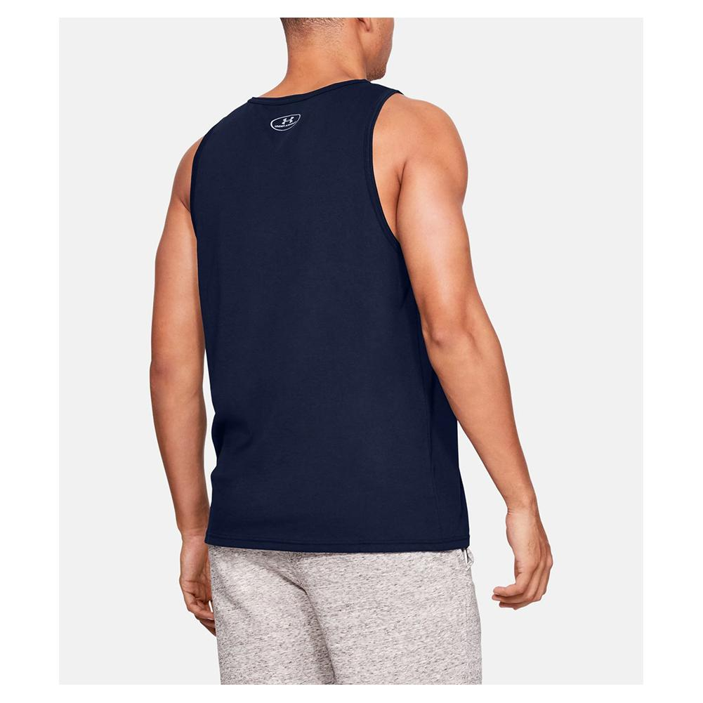 2020 Under Armour Mens Sportstyle Logo Tank Top UA Gym Training Sleeveless Vest