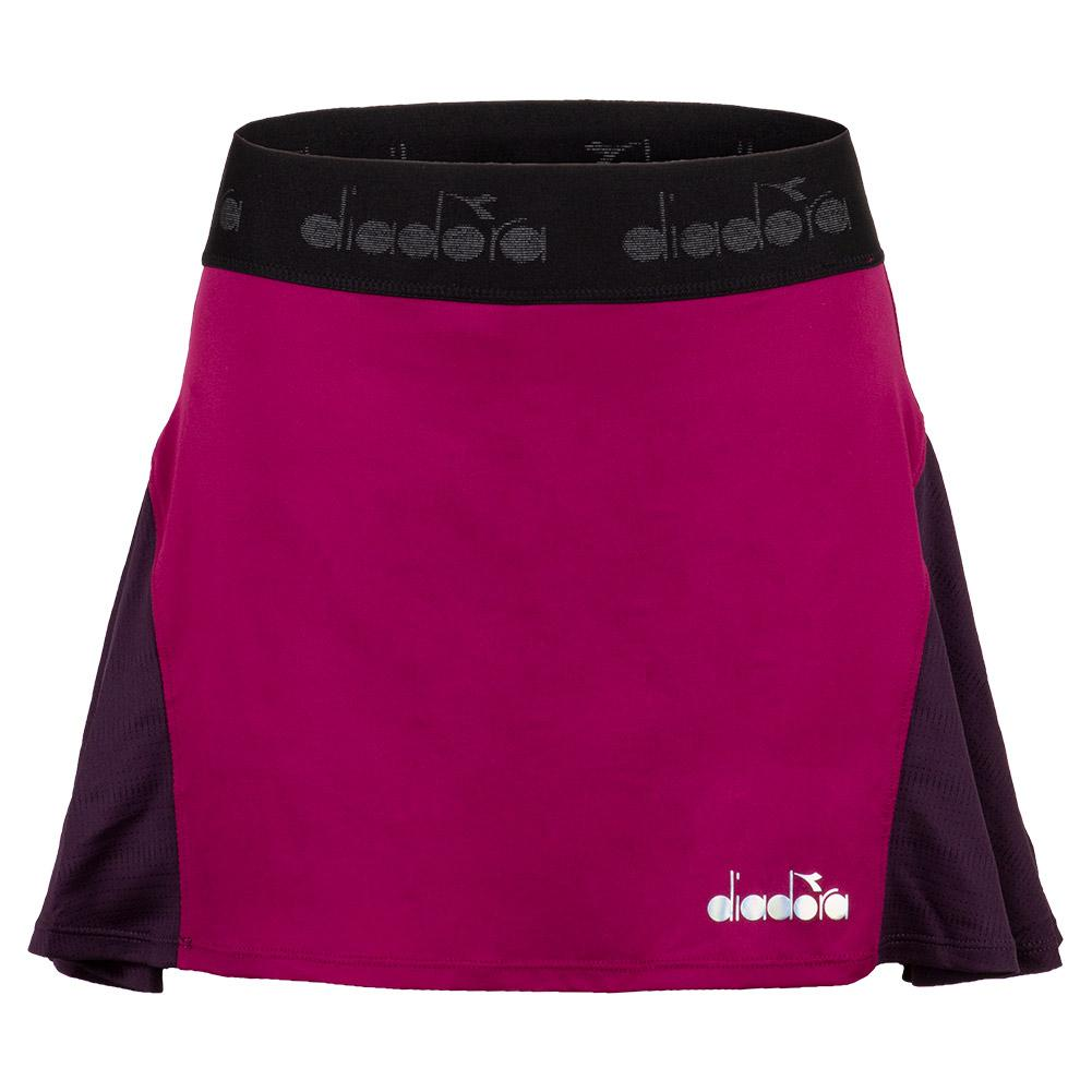 Women's Tennis Skirt In Violet Boysenberry