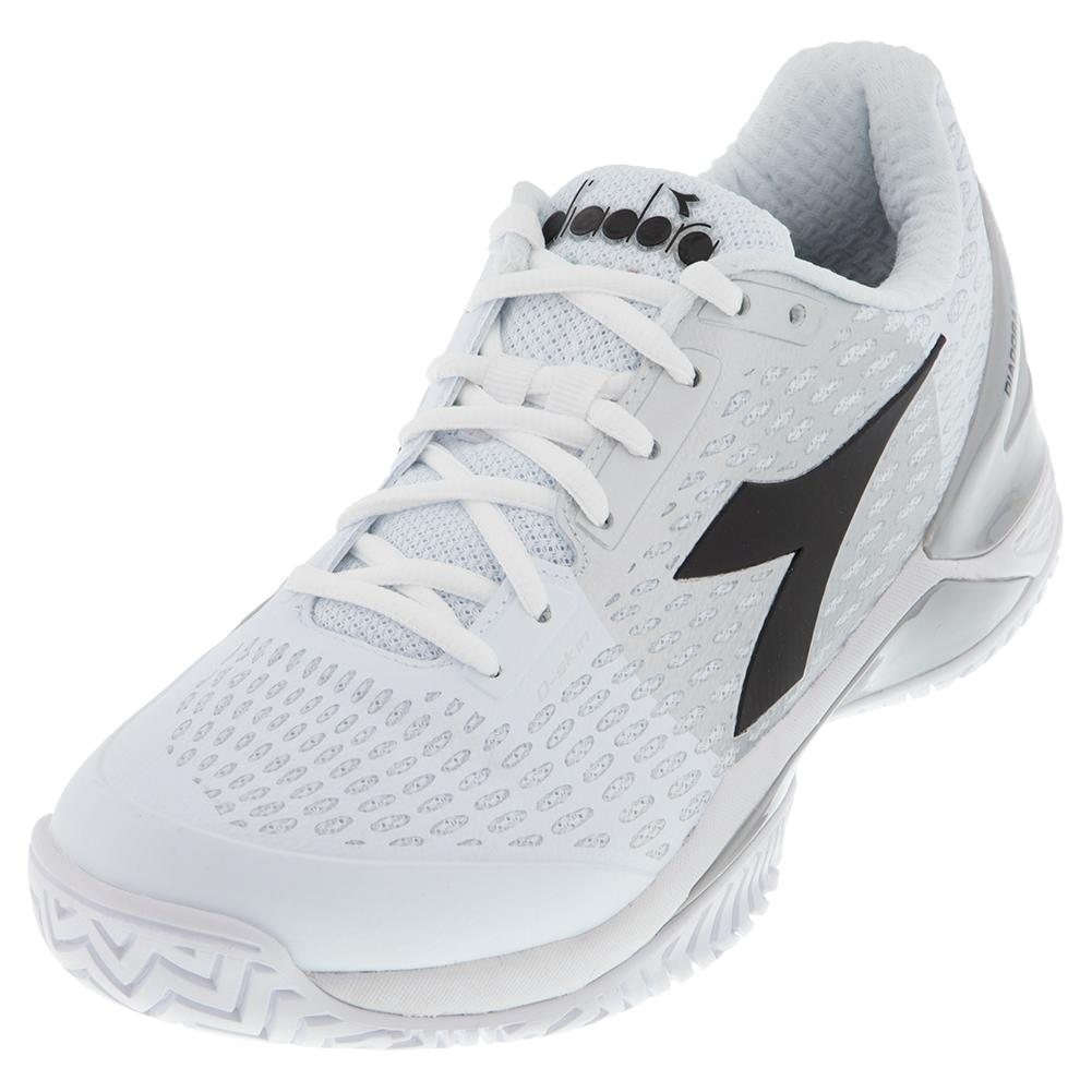 Men's Speed Blushield 3 Clay Tennis Shoes White And Silver