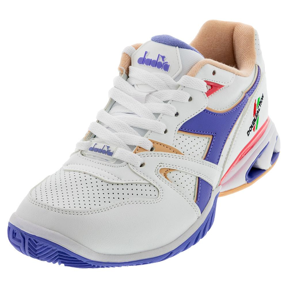 Women's S Star K Duratech Ag Tennis Shoes White And Violet