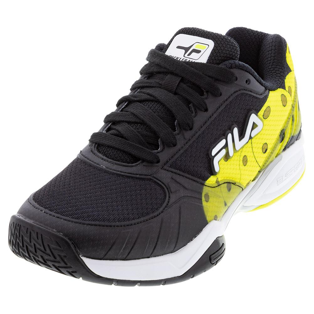 Men's Volley Zone Pickleball Shoes Black And White