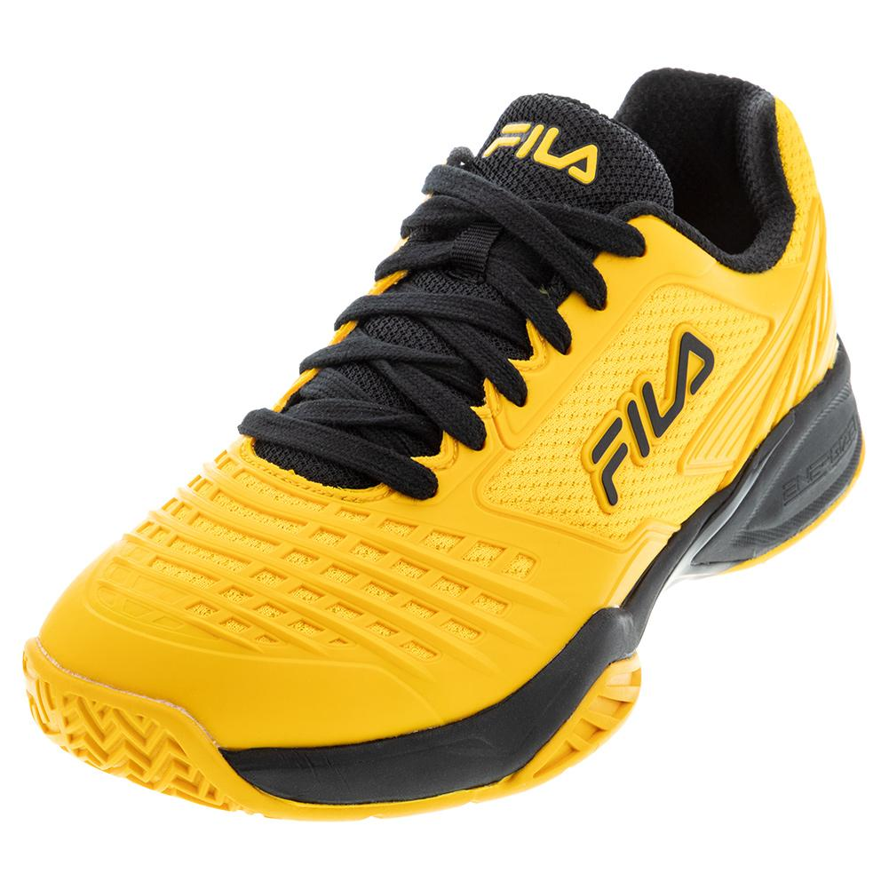 Men's Axilus 2 Energized Tennis Shoes Gold Fusion And Black