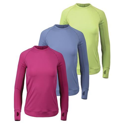 Women's Long Sleeve Pullover Tennis Top