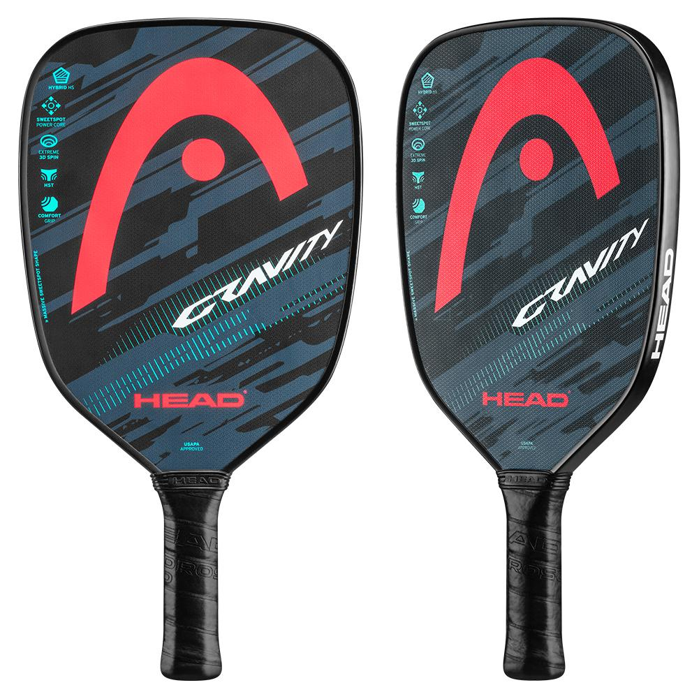Gravity Pickleball Paddle Teal And Lava