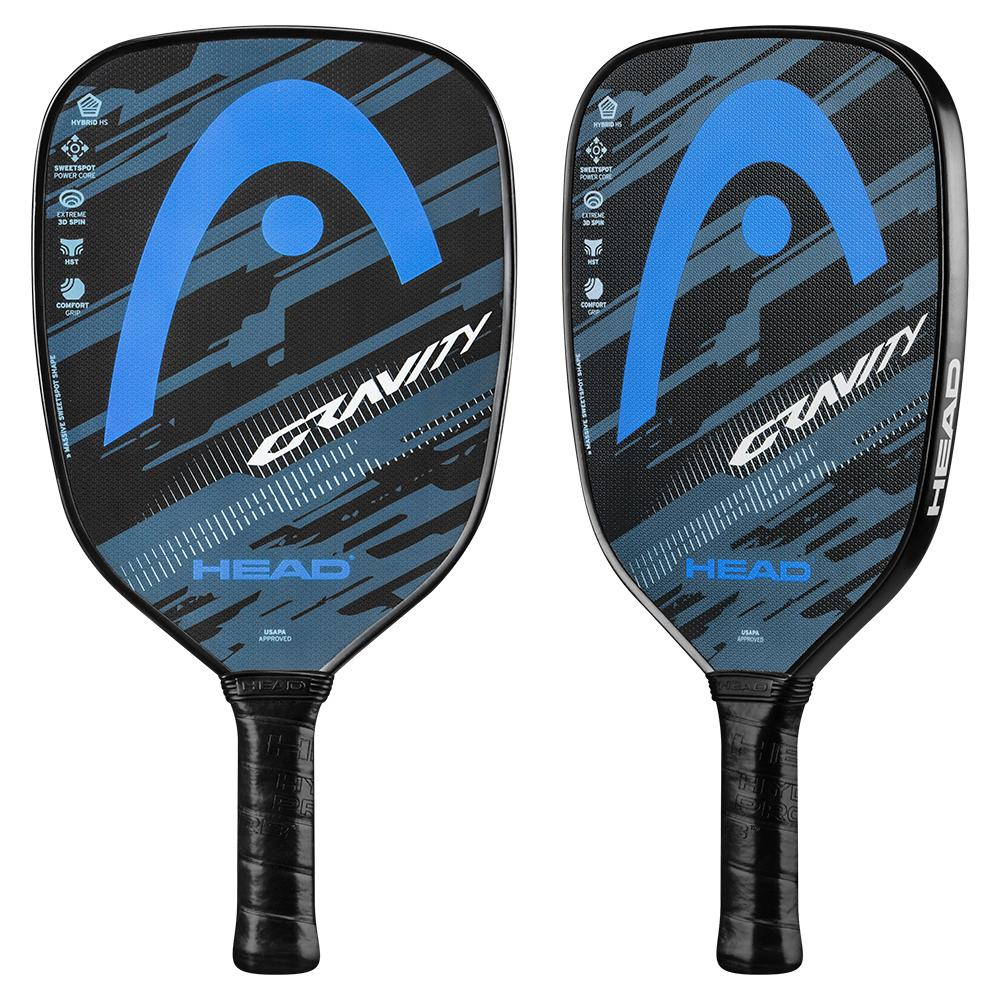Gravity Pickleball Paddle Blue And Grey