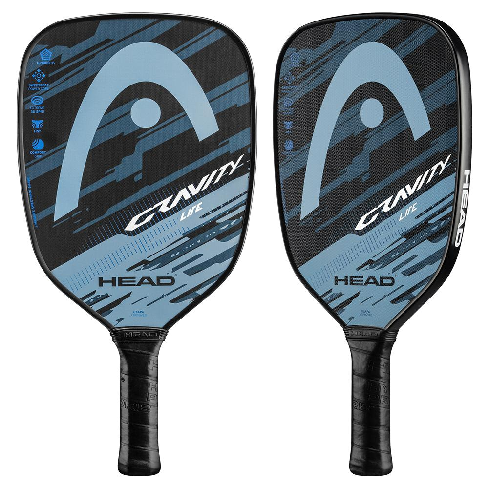 Gravity Lite Pickleball Paddle Blue And Grey