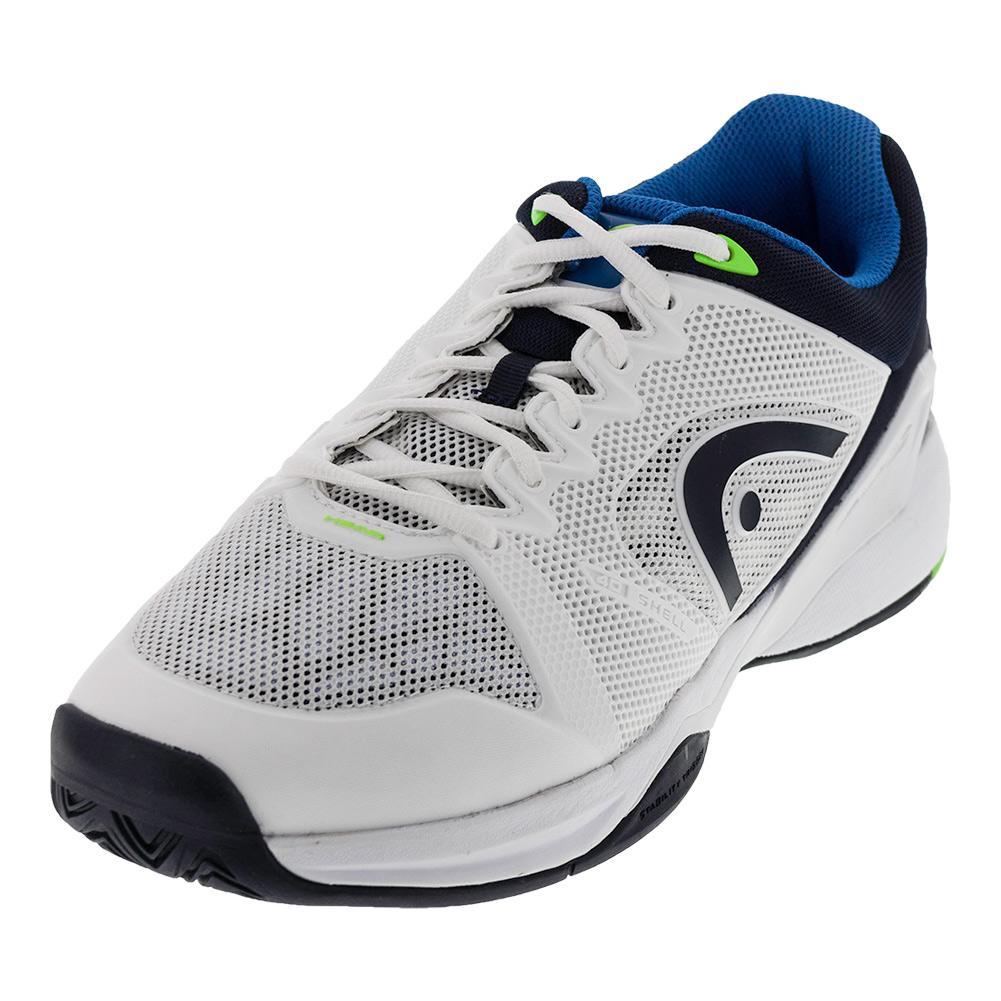 Men's Revolt Pro 2.0 Tennis Shoes White And Blue