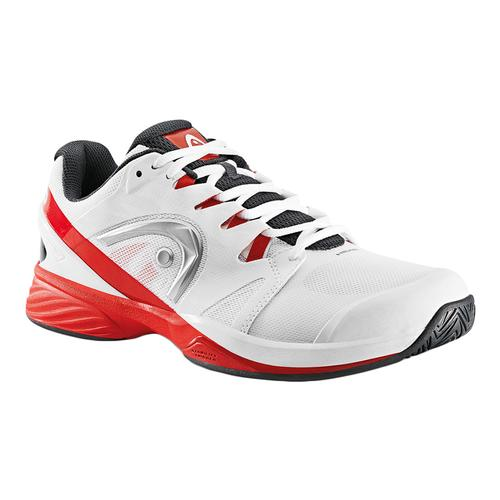 Men's Nitro Pro Tennis Shoes White And Red