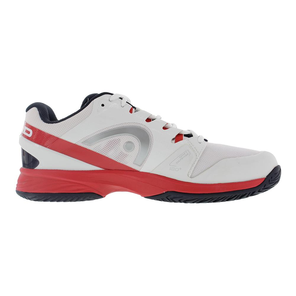 s nitro pro tennis shoes in white and