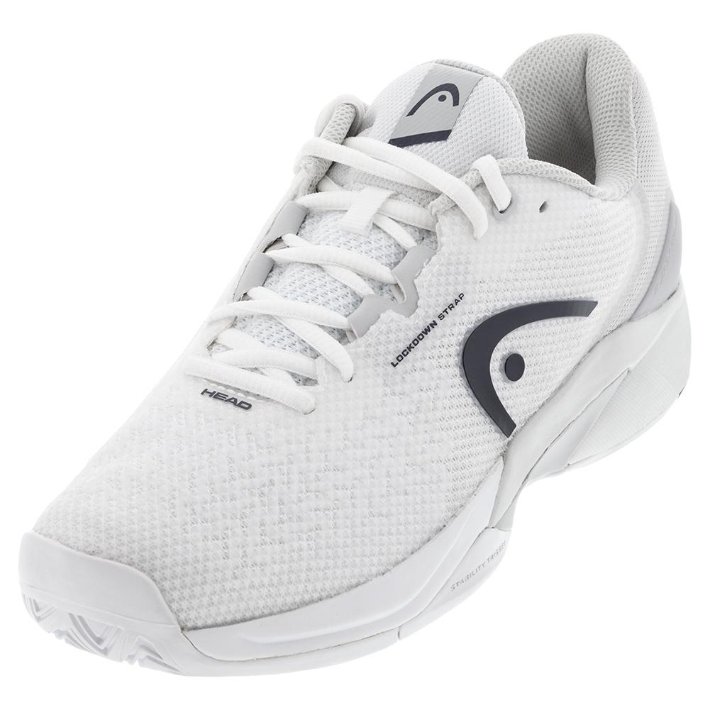 Men's Revolt Pro 3.5 Tennis Shoes White And Dress Blue