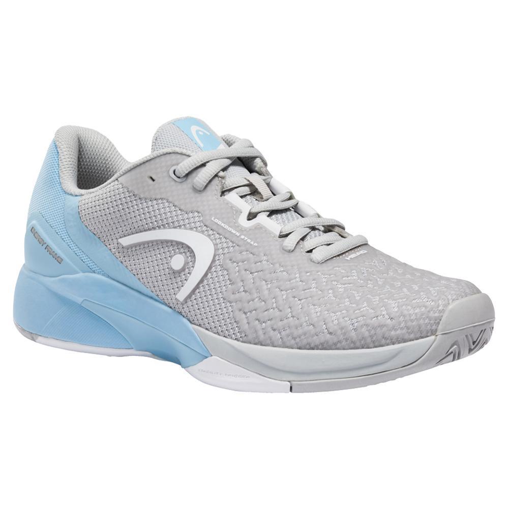 Women's Revolt Pro 3.5 Tennis Shoes Grey And Light Blue