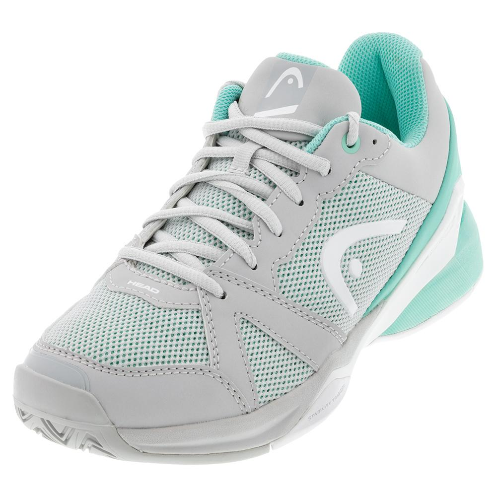 Women's Revolt Evo Tennis Shoes Grey And Beach Glass